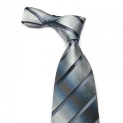 Stribet silke slips der toner ternet ud.